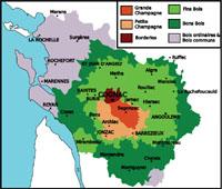 mapa Charente