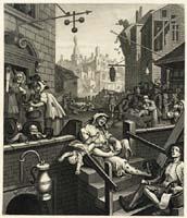 Hogarths Gin Lane