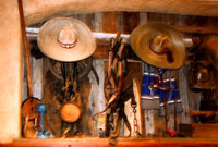 Interiér mexické restaurace